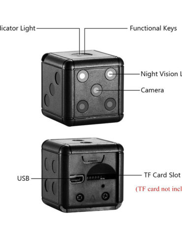 Dice-Mini-Camera-Motion-Detection-1080P-30fps-Nightvision-SD-Card-Max-32G-16