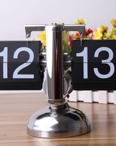 Flip-Clock-Retro-Automatic-Balance-Flip-Clock-Novelty-Digital-Flip-down-Page-Gear-Operated-Desk-Table