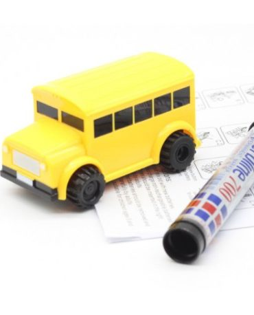 inductive bus with marker